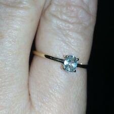 COLOUR CHANGE RARE 9K ALEXANDRITE RING 0.41CTS CERTIFICATE OF AUTHENTICITY