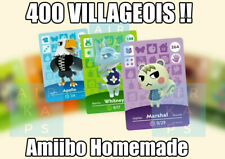 🍃 Carte Amiibo Animal Crossing NFC - Choisir SON Villageois - LIRE DESCRIPTION