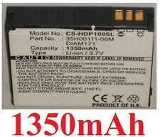 Batterie 1350mAh type 35H00111-08M DIAM171 Pour HTC Touch Pro