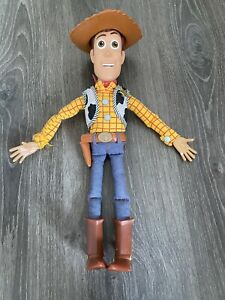 WOODY- toy story pull string Soft Doll, Bonnie On Boot, Toy Story 4, VGC