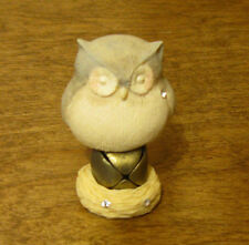 Foundations #4047713 by Karen Hahn Enesco OWL on BELL, NEW From Retail Store