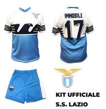 Completo maglia Lazio CIRO IMMOBILE 17 2020 Replica Ufficiale + pantaloncini