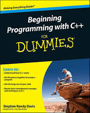 Beginning Programming with C++ For Dummies, Davis, Stephen R., New Book