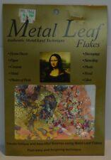 Mona Lisa Metal Leaf Flakes 3g Variegated Gold New
