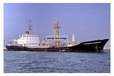 mc4451 - Russian Cargo Ship - Krasnoyarskiy Komsomolets , built 1972 - photo 6x4