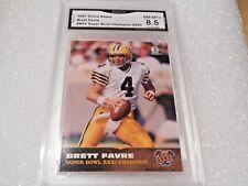 Brett Favre GRADED CARD!! 1997 Score Board #BF5 Insert Packers HOFer!! X-8.5