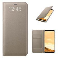 Samsung Custodia originale Led View Flip Cover a libro Oro per Galaxy S8 Plus