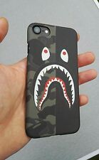 BAPE/AAPE CAMOUFLAGE/Black protective hard case for iPhone 7 high quality