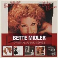 BETTE MIDLER - ORIGINAL ALBUM SERIES 5 CD POP NEW+