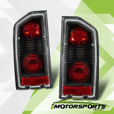 1988-1998 Suzuki Vitara/Sidekick/Geo Altezza Style Black Brake Tail Lights Pair