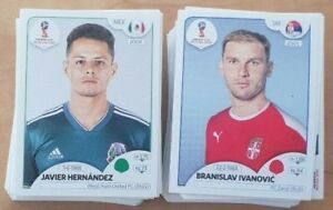 Panini FIFA World Cup Russia 2018 Stickers Choose Your Sticker numbers 400 - 681