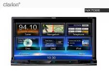 "Clarion NX702E NEU 2-DIN-DVD-MULTIMEDIA-STATION Navigation 7"" NX 702 NX702"