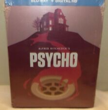 Psycho (Blu-ray Disc, 2014, Limited Edition Steelbook) - New Sealed