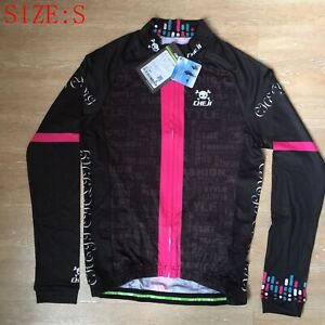 Women Cycling Jerseys Long Sleeve MTB Road Bicycle Jersey Cycling Clothes Size S