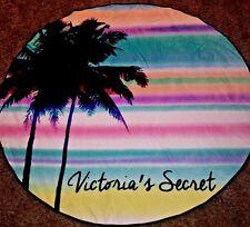 Victorias Secret Round Beach Towel Palm Tree Print