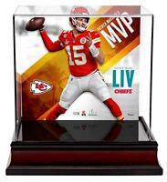 Patrick Mahomes Kansas City Chiefs Super Bowl LIV Champs MVP Mini Helmet Case