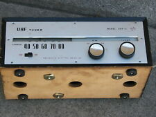 National UHF-2 UHF Vintage Tube Tuner Made in Japan w/Original Box Rare