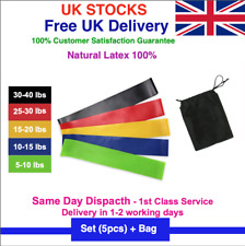 Resistance Bands Stretch Loop Fitness Exercise Crossfit Strength Weight Training