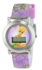 Disney Fairies Tinkerbell LCD Watch Purple/Pink New Includes Battery