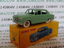 Car 1/43 new edition DINKY TOYS atlas : peugeot 403 green in box