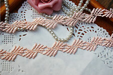 Beautiful Apricot Venise Lace Trim 20 mm Wide By The Metre