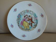 1979 Royal Doulton Valentine'S Day Plate, Mint, Victorian Boy & Girl On Swing!