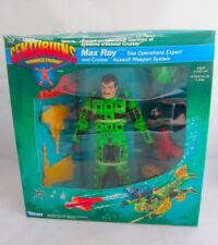Centurions MAX RAY Action Figure Complete SEALED BOXED 1986 Kenner Toy Box Worn