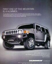 2007 2008 Hummer H3 Original Advertisement Print Art Car Ad K79