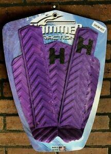 Hammer Traction Surfboard Skim Kit - Tail Pad Deck Grip & Arch Bar - Purple