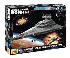 """Model Kit """"Imperial Star Destroyer"""" Star Wars 1:2700 Zvezda 9057 in ORIGINAL BOX"""
