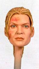 1:6 Custom Head Laurie Holden Andrea Harrison The Walking Dead Battle Damaged