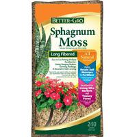 8.47 oz Organic Peat Moss Sphagnum Moisture Control Soil Moisture Fertilizer