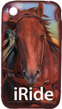 RIVER'S EDGE  - 3 3G 3Gs iPhone Cover - iRIDE LOGO W/HORSE - Brand New