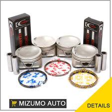 Pistons Main Rod Bearings Fit Daewoo Leganza Isuzu Rodeo 2.0L 2.2L X20SE X22SE