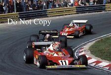 Niki Lauda Ferrari 312 T2 holandés Grand Prix 1977 fotografía