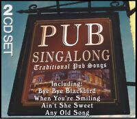 PUB SINGALONG Volume 1 & 2 (2 CD) TRADITIONAL PUB SONGS ~ DRINKING *NEW*