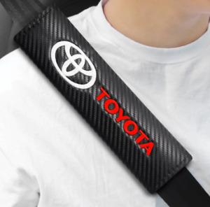 Toyota Prado 2021 KAKADU Wagon Leather Safety Belt Shoulder Cover Breathable Pad