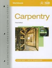 Residential Construction Academy: Carpentry: Lab Manual, Standiford, Kevin, Vogt