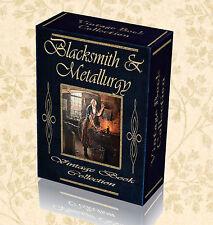 360 Vintage Books Metallurgy Blacksmithing Metal Work Tong Forge Anvil 2 DVD 259