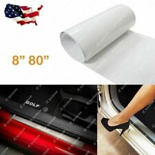 "8""x 80"" Car Door Sill Edge Paint Clear Protection Scratches Vinyl Film Sticker"