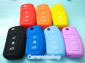 Ford 3 Button Silicone Key Cover to Suit Falcon Mondeo Focus Territory