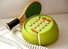 TELEFONO TENNIS FONE BALL RACKET RETRO CORDA 1988 TB-321S