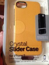 Incase Crystal Slider Case for iPhone 5, Electric Yellow #CL69039