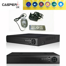 8CH DVR CCTV Hybrid Digital Video Recorder P2P TVI CVI AHD VGA HDMI Mobile View