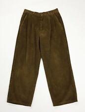 Duca visconti di modrone velluto a coste pantalone uomo usato W32 tg 46 T4770