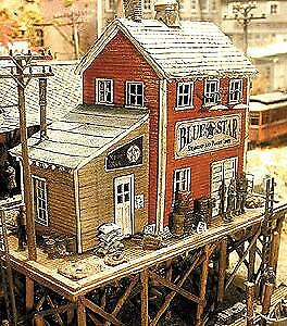 Bar Mills 0922 HO Waterfront Willy's/Trackside Jack's Laser Cut Building Kit