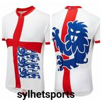 5969a5bd7 Genuine Foska England Three Lions Classic Road Cycling Jersey