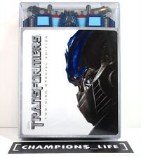 TRANSFORMERS - TWO DISC SPECIAL EDITION DVD - OPTIMUS PRIME FOLD OUT CASE - USED