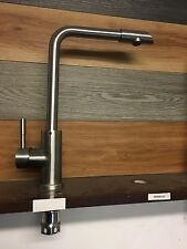 TAP STAINLESS STEEL #304 TAP SINK HOT COLD WATER MIXER BRUSHED NICKLE FAUCET