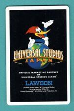 1 Single Swap Playing Card Woody Woodpecker Universal Studio Japan Ad Comic Bird